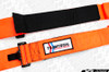 TeamTech Motorsports SFI 4 Point Camlock Harness - Custom Color (Pads / Pull Tabs)