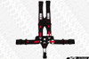 TeamTech Motorsports SFI RAMPAC 5 Point Camlock Bolt In Harness - Optional Color