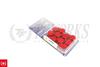Project Kics Monolith T1/06 Lug Nuts - 12x1.25 / 12x1.50 (Neochrome)