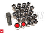 Project Kics Monolith Lug Nut Inner Caps M12 / M14