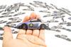 TF-Works Mini Car Sticker - S13 Rocket Bunny