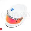 HJC Motorsports AR-10 III  / H10 / H70 Helmet Visor - Fire Red Iridium