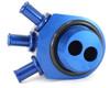 GrimmSpeed Air/Oil Separator (BLUE) - Turbo 02-07 WRX / 04+ STi 078006B