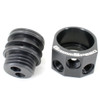 GrimmSpeed Air/Oil Separator (BLACK) - 02-07 WRX / 04+ STi 078006