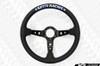 KEY'S RACING Deep Type Steering Wheel (350mm/Leather)