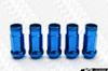 MUTEKI SR48 Open Ended Racing Lug Nut - Chrome Blue