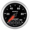 Auto Meter Elite Boost Gauge 52mm 0-100 PSI