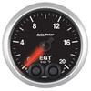 Auto Meter Elite Exhaust Gas Temperature EGT Gauge 52mm 0 - 2000ºF