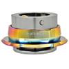 NRG Quick Release Kit Gen 2.8 (Gun Metal Body w/ Diamond Cut Neochrome Ring)