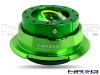 NRG Quick Release Kit Gen 2.8 (Green Body w/ Diamond Cut Ring)