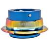 NRG Quick Release Kit Gen 2.8 (New Blue Body w/ Diamond Cut Neochrome Ring)