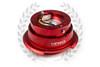 NRG Quick Release Kit Gen 2.8 (Red Body w/ Diamond Cut Ring)