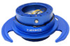 NRG Quick Release Gen 3.0 - Blue Body/Blue Ring w/Handles