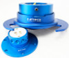 NRG Quick Release Kit Gen 3.0 - New Blue Body/New Blue Ring w/Handles
