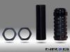 NRG Stealth Style Nissan / Mazda / Mtisubishi Adjustable Shift Knob - M10x1.25 - Black