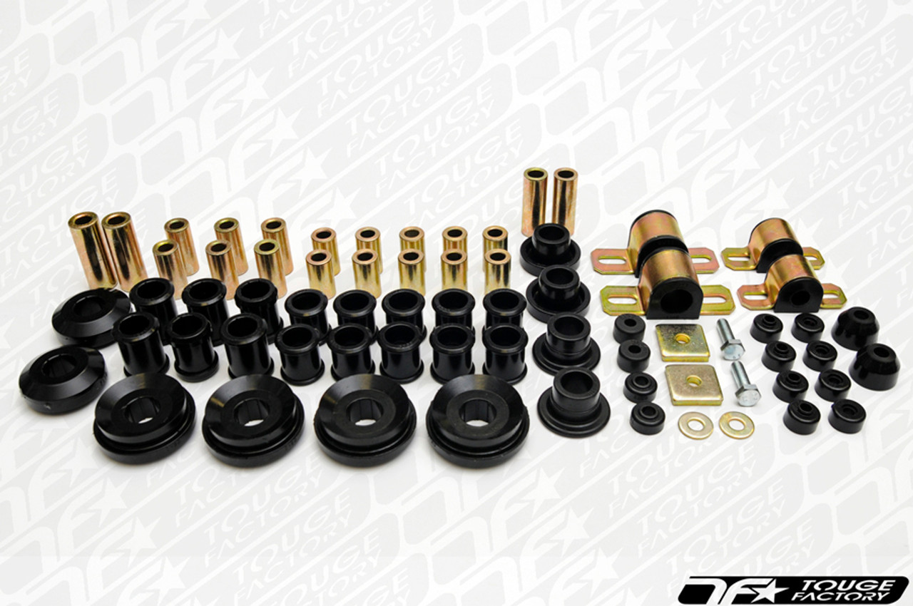 Energy Suspension Black Front Control Arm Bushing Set For 89-94 Nissan 240SX S13