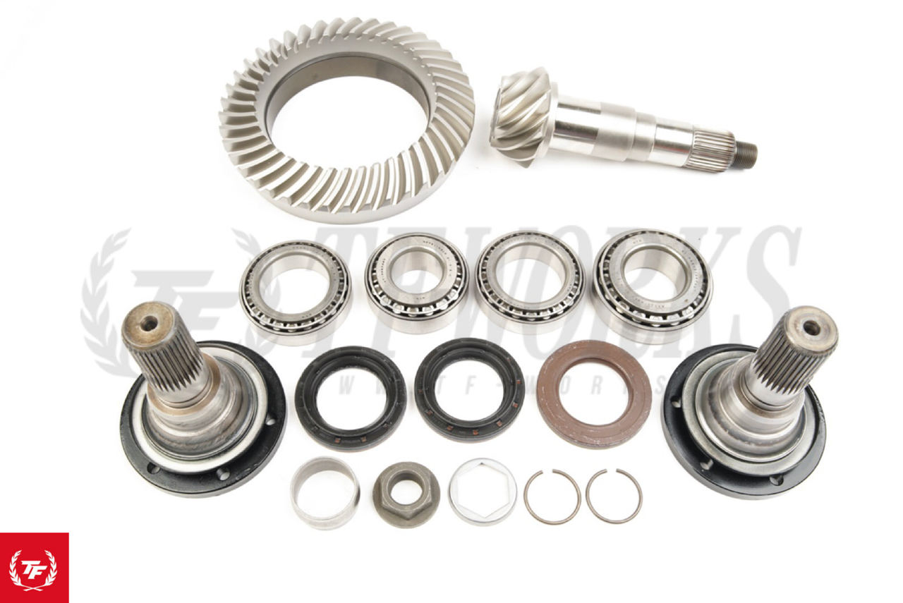 BMW E46 M3 Differential Rebuild Kit + E36 M3 Euro Output Shafts + 4 10  Final Gear