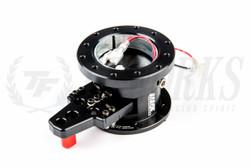 Works Bell Rapfix GTC Pop-up Flip-up Steering System - Black