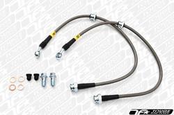 StopTech 08-09 Subaru WRX STi Stainless Steel Rear Brake Lines