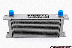 Mocal Oil Cooler 16 Row 235 Matrix with -10 AN