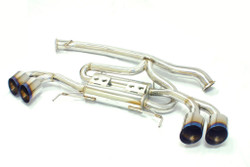 MXP Performance Straight-Type Stainless Steel Exhaust System - Nissan GTR R35