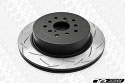 DBA Brakes T2 Slotted Street Series Front Rotor - 2012+ Scion FR-S & Subaru BRZ