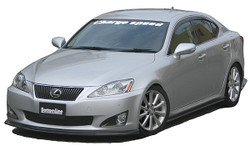 Charge Speed Bottom Line Side Skirts: Carbon - Lexus IS250/350