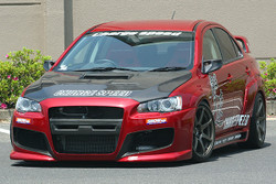 Charge Speed Type-1 Front Bumper: FRP - Mitsubishi EVO 10