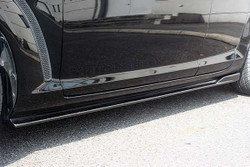 Charge Speed Bottom Line Side Skirts: FRP - Mazda RX8