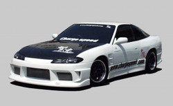 Charge Speed FRP, 20mm Wide Body Front Fenders (Pair) - Nissan 240SX S13-S15
