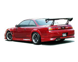Charge Speed Zenki / Kouki FRP Side Skirts - Nissan 240SX S14