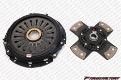 Competition Clutch Stage 5 - 4 Pad Rigid Ceramic Clutch Kit - 08-10 Mitsubishi EVO 10 4B11