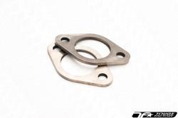 "TF Titanium 2-bolt Exhaust Flange 76mm / 3"" ID"