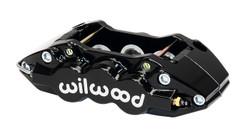 Wilwood W6A Radial Mount Caliper - Black Powder Coat