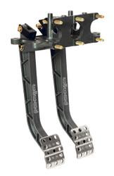 Wilwood Aluminum, Reverse Facing, Swing Mount Brake & Clutch Pedal Set