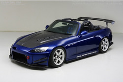 J's Racing Type S Total Aero System CFRP Version 2 - Honda S2000 AP1 AP2