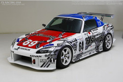 J's Racing Type S Total Aero System FRP Version 2 - Honda S2000 AP1 AP2