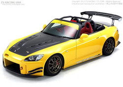 J's Racing Type S Total Aero System FRP Version 1 - Honda S2000 AP1 AP2