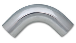 "Vibrant 2.5"" O.D. Aluminum 90 Degree Bend - Polished"