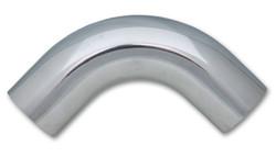 "Vibrant 3.5"" O.D. Aluminum 90 Degree Bend - Polished"