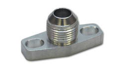 Vibrant Oil Drain Flange w/ integrated -10AN Fitting (for T3/T4 and GT40-GT55 Turbos)