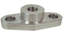 Vibrant Oil Feed Flange (for use with T3, T3/T4 and T04 Turbochargers)