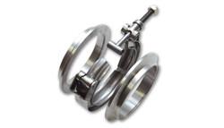 "Vibrant Aluminum V-Band Flange Assembly - 2.5"" O.D. Tubing"