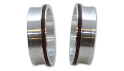 """Vibrant Aluminum Weld Fitting with O-Rings for 3.5"""" Tube O.D."""