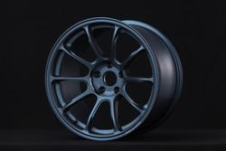 Volk Racing ZE40 - 18x10.5 5x114.3 - Matte Gun Blue & Diamond Dark Gunmetal