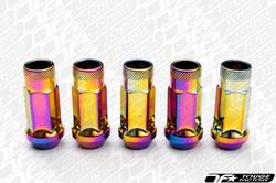 MUTEKI SR48 Open Ended Racing Lug Nut NEO CHROME