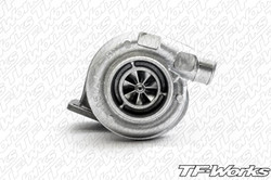 "Borg Warner Airwerks S200SX FMW 57mm Turbo with 3"" V-band"