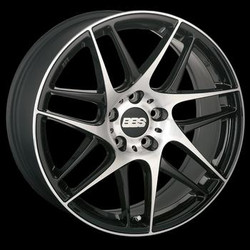 BBS CX-R Cast Aluminum Monobloc with Flow-Formed Rim Area