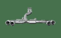 Akrapovic Evolution Line Titanium Exhaust System - Nissan GT-R R35