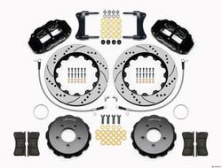 "Wilwood Forged Narrow Superlite 6R Big Brake Front Brake Kit - 18"" Min Wheel Dia - 6 Piston - Drilled & Slotted Rotor - Mazda Miata MX-5"